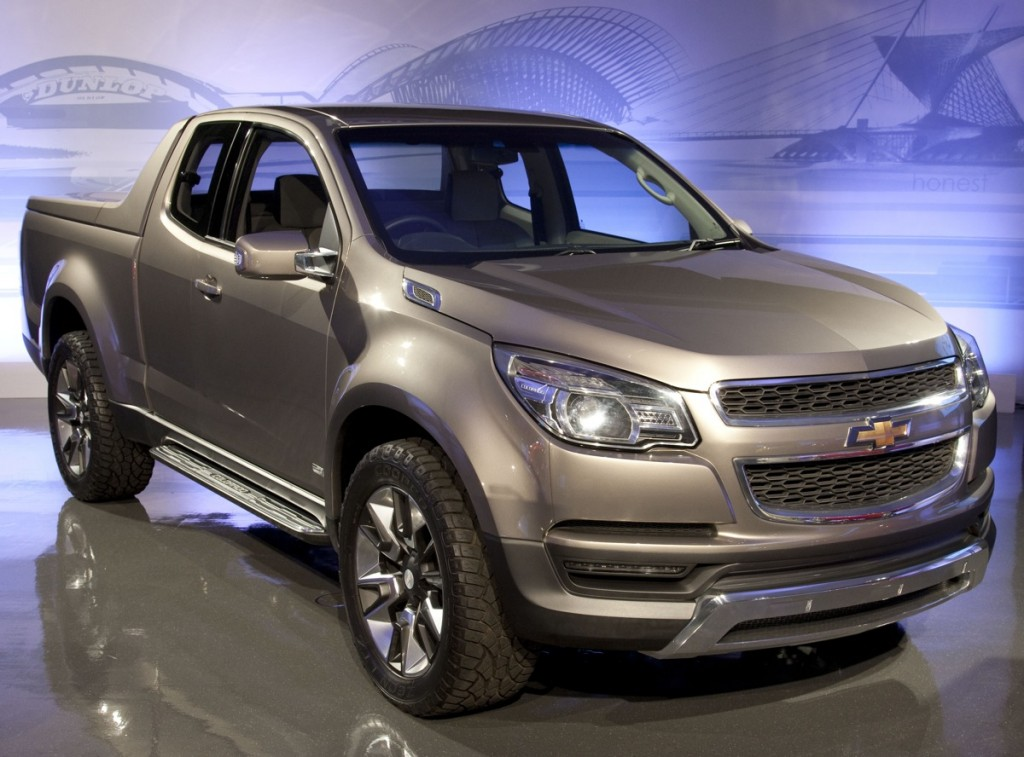 Chevy's Colorado concept vehicle. Image: © GM Corp.