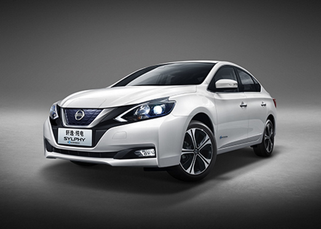 Chinese market Nissan Slyphy