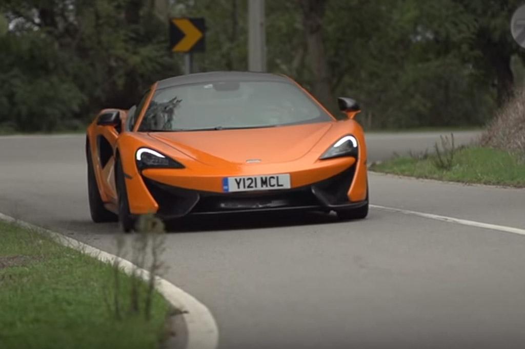 Chris Harris Gets Behind The Wheel Of The New McLaren 570S: Video