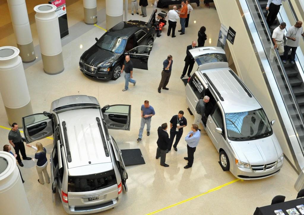 Chrysler 2012 Automobility event