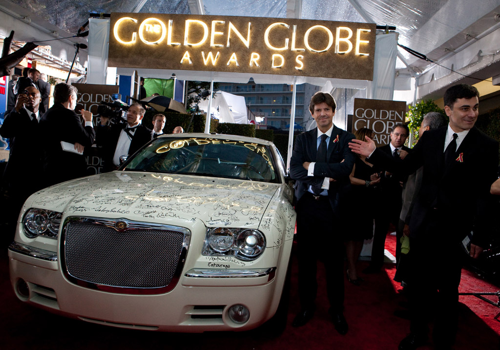 Chrysler 300 at Golden Globes