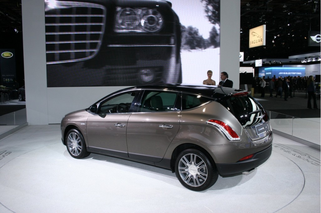 Chrysler-badged Lancia