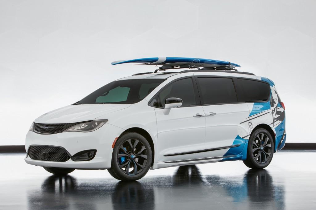 Chrysler Pacifica Cadence concept, 2016 SEMA show