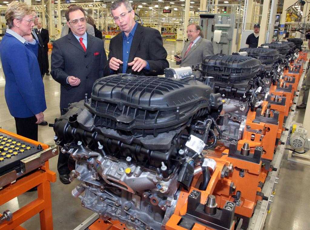 Chrysler Upgrades Pentastar V