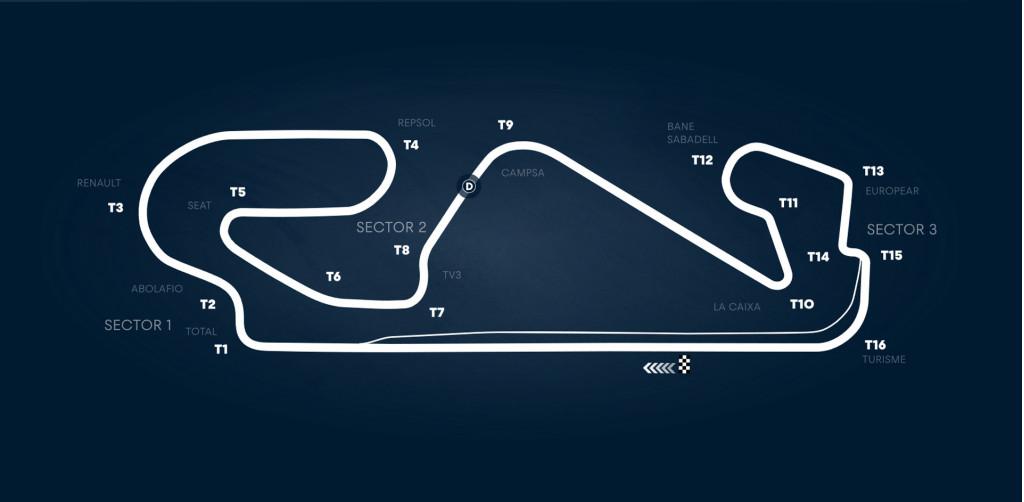 Circuit de Barcelona-Catalunya, home of the Formula One Spanish Grand Prix
