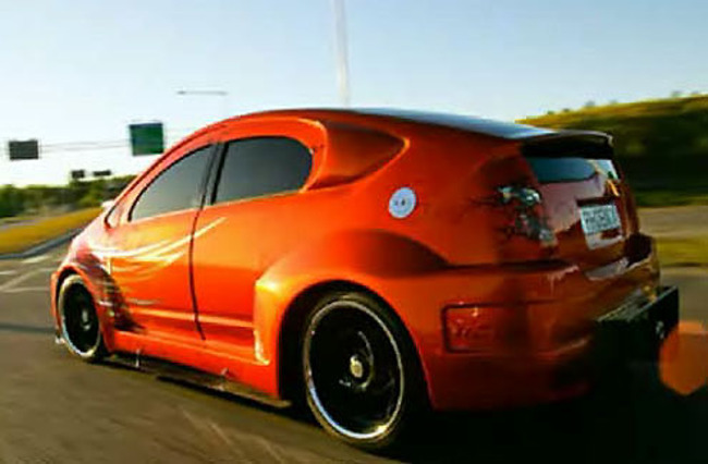 Honda Luxury Brand >> Cool Custom, or the Most Horrifying Prius In The World?