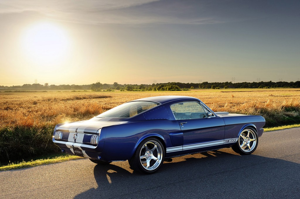 Classic Recreations's 1966 Mustang Fastback Shelby GT350CR