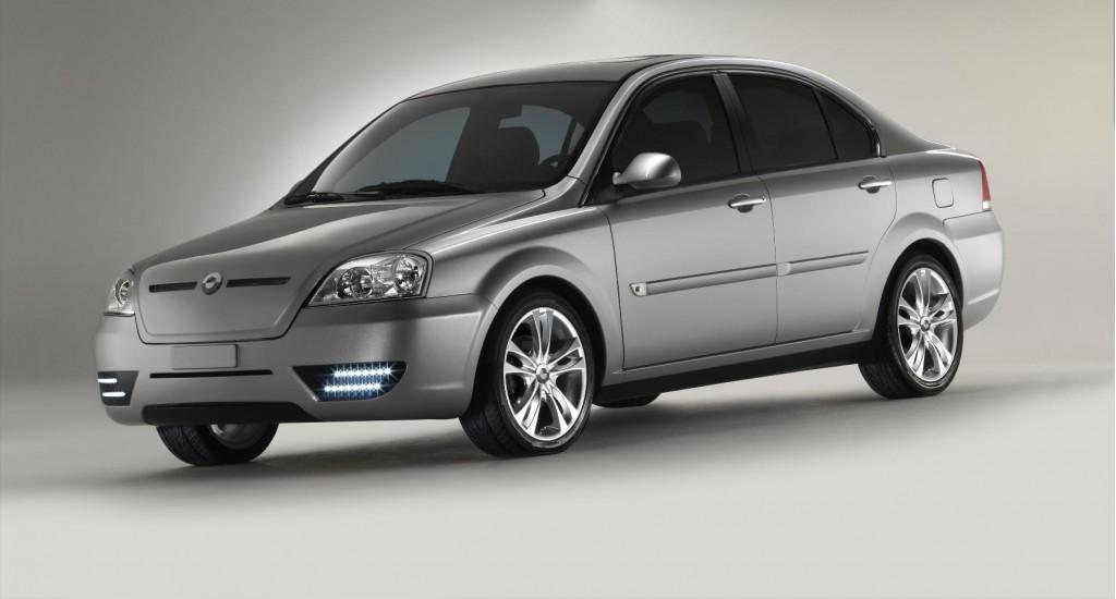 Coda electric sedan