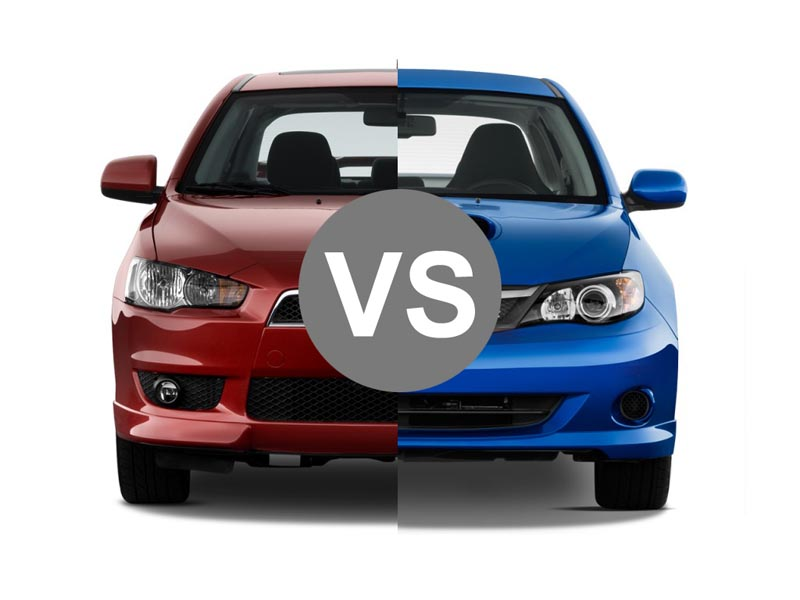 Budget Rally Cars: Subaru WRX vs Mitsubishi Lancer Ralliart