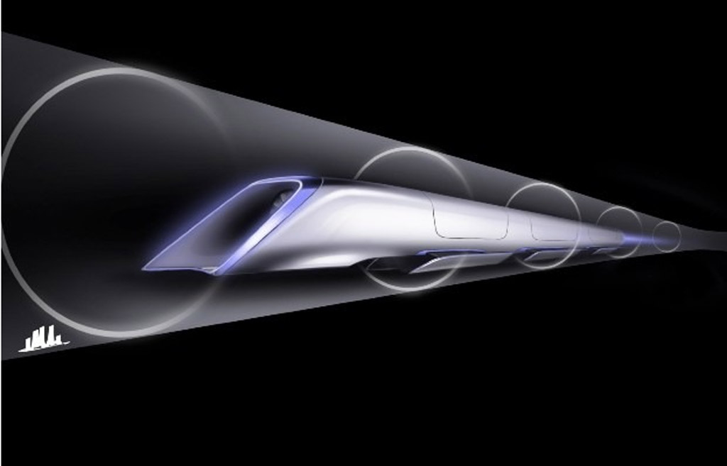 Concept drawings for Elon Musk's 800-mph Hyperloop