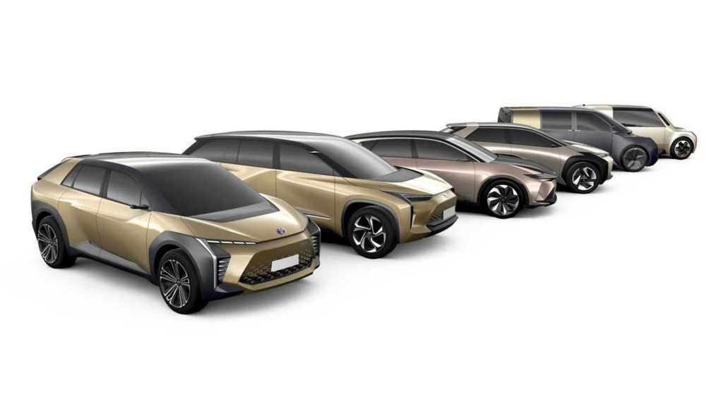 Concepts preview six battery-electric cars being developed at Toyota