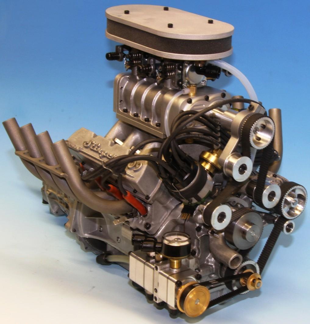 V8 Engine Kit: Stinger 609: World's Smallest Supercharged Four-Stroke V-8