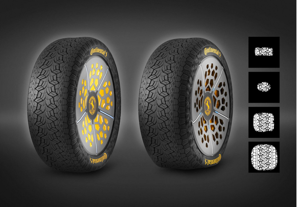 ContiAdapt and ContiSense concept tires