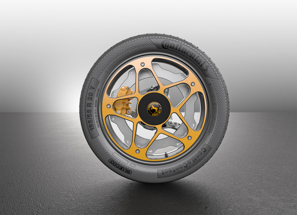 Continental wheel and brake concept