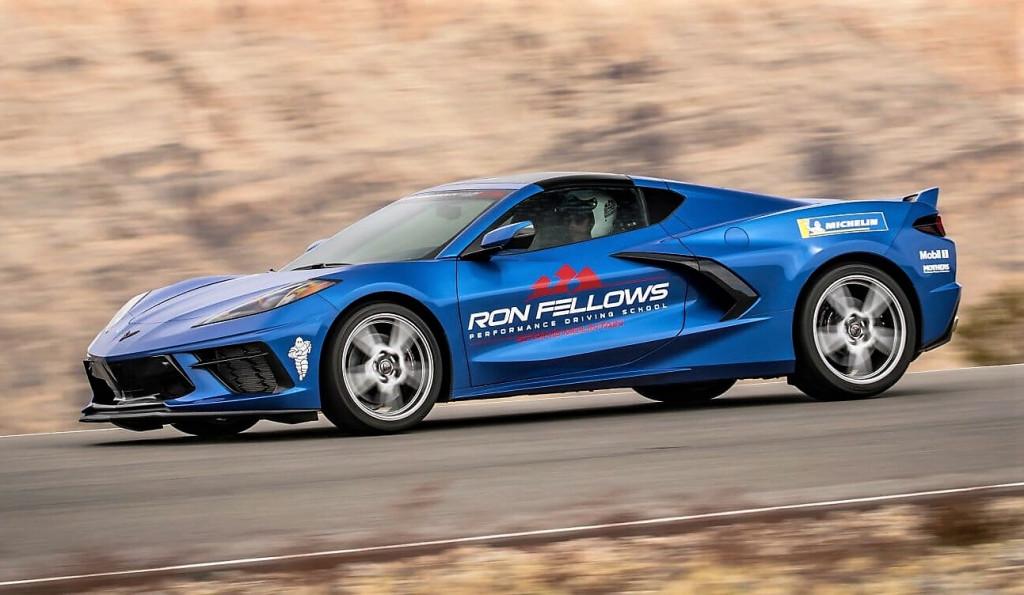 Corvette C8s at the Ron Fellows school | Ron Fellows Performance Driving School photos