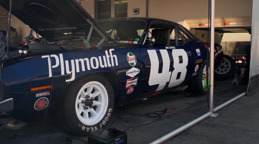 Jay Leno Checks Out Craig Jackson S Plymouth Barracuda
