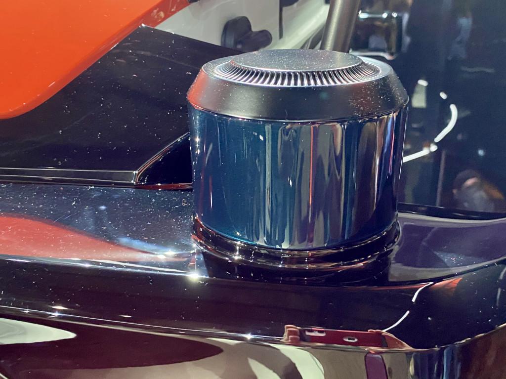 Cruise Origin driverless vehicle - sensors