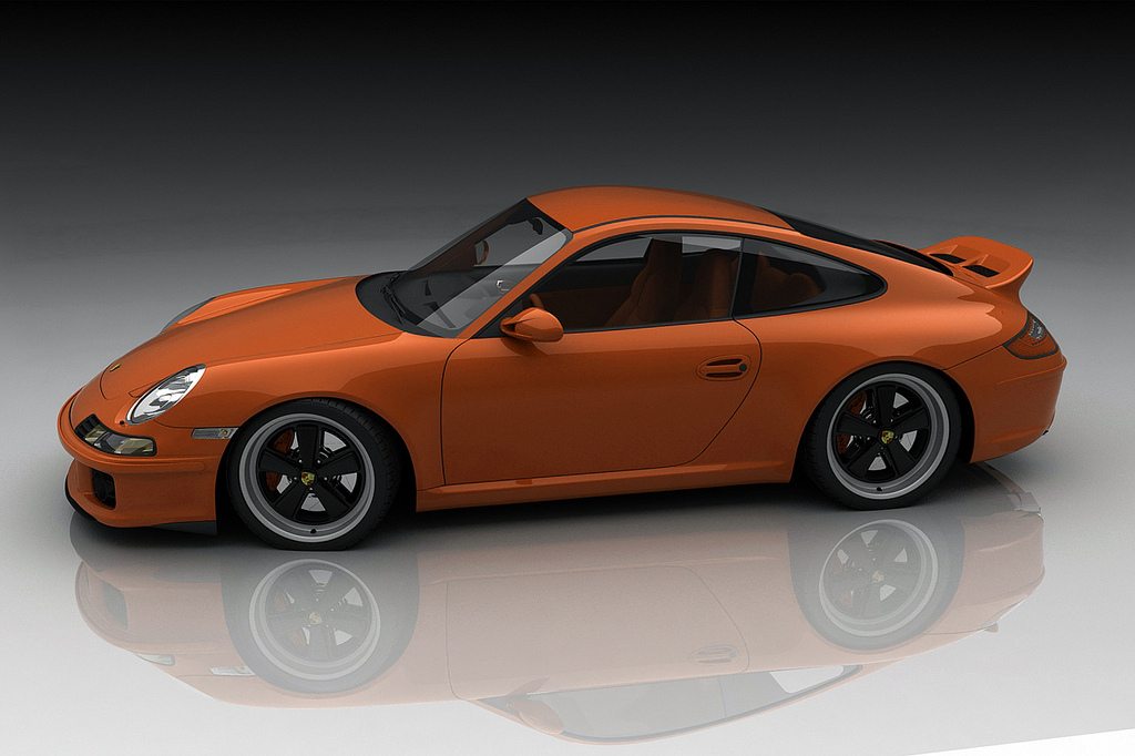 Bo Zolland Imagines A Retro Porsche 911