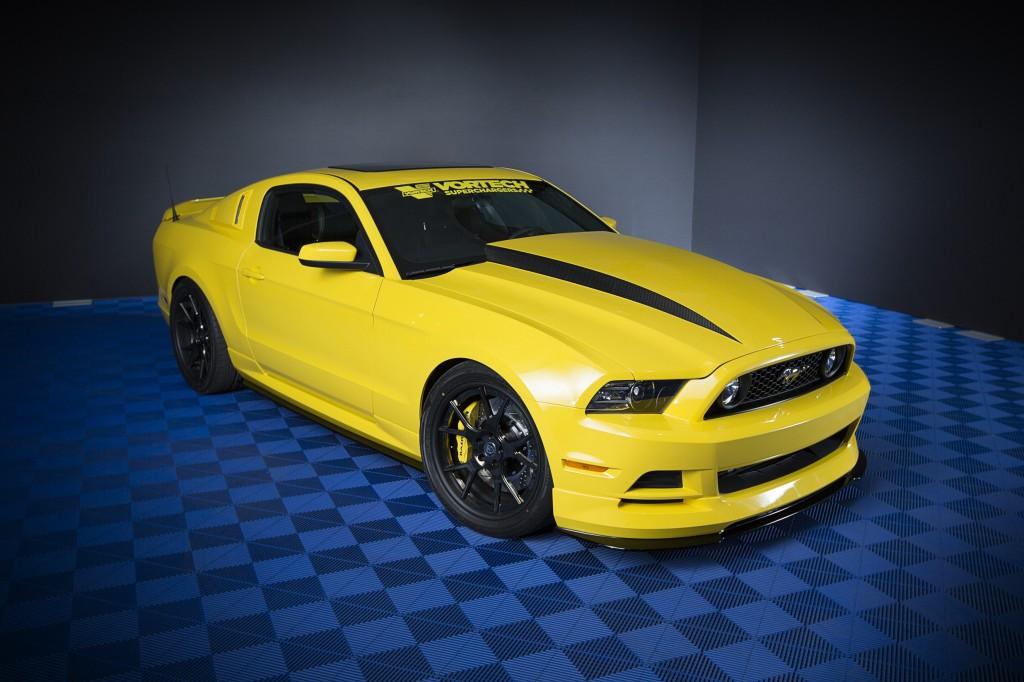 Custom Ford Mustang at 2013 SEMA show