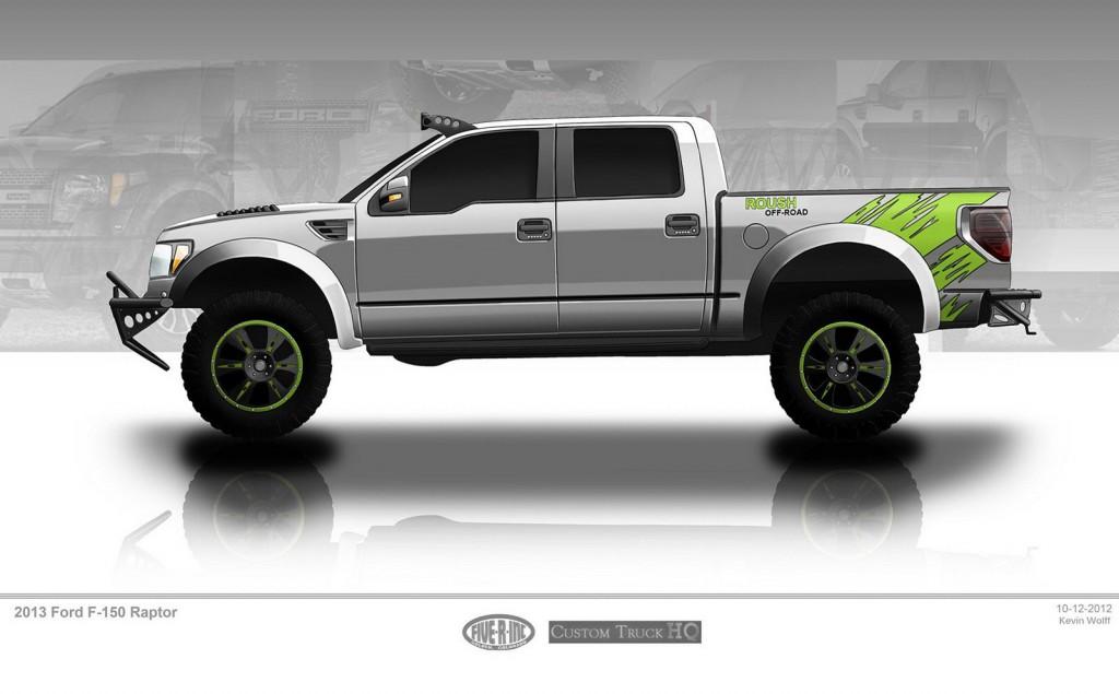 Custom Truck Hq Ford F  Svt Raptor