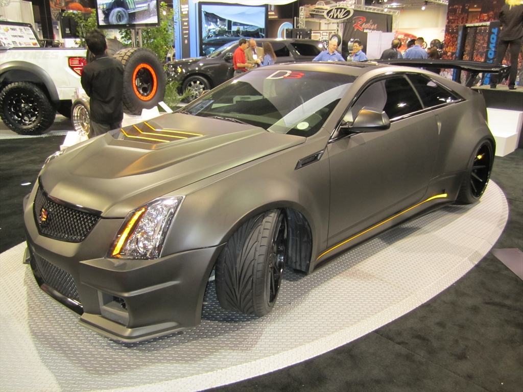 Image: D3 Le Monstre Cadillac CTS-V Coupe wide-. Photo by ...