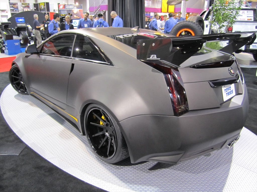 D3 Le Monstre Wide Body Cadillac Cts V Coupe 2011 Sema