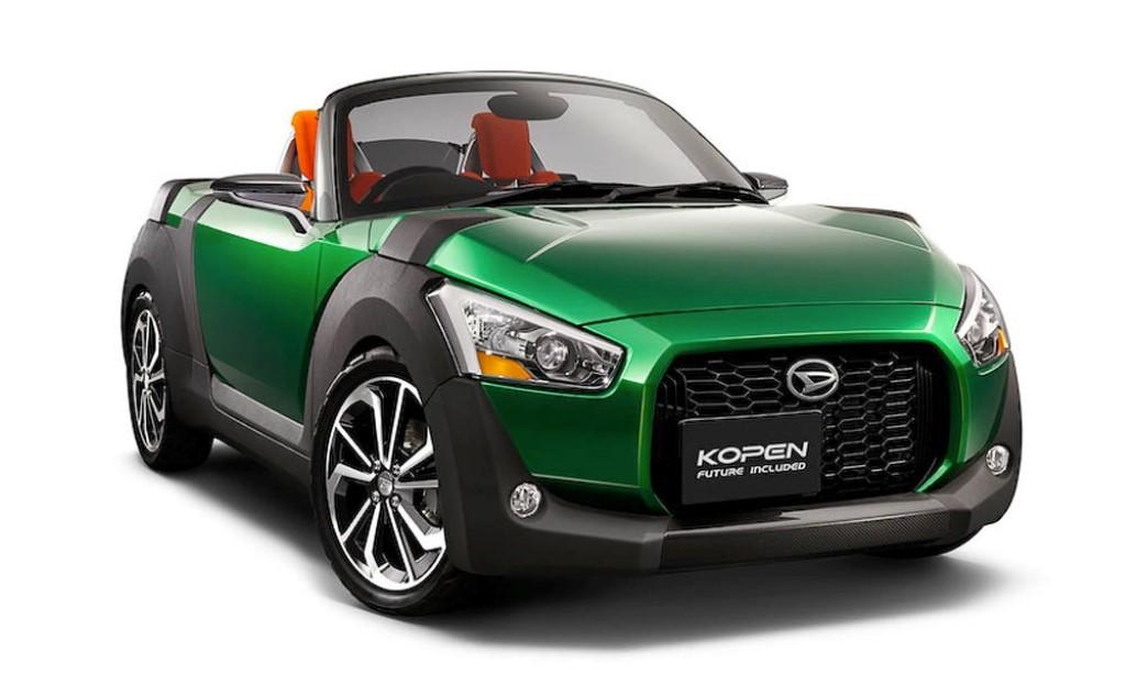 Daihatsu Previews Quirky Kopen Concepts For Tokyo Motor Show