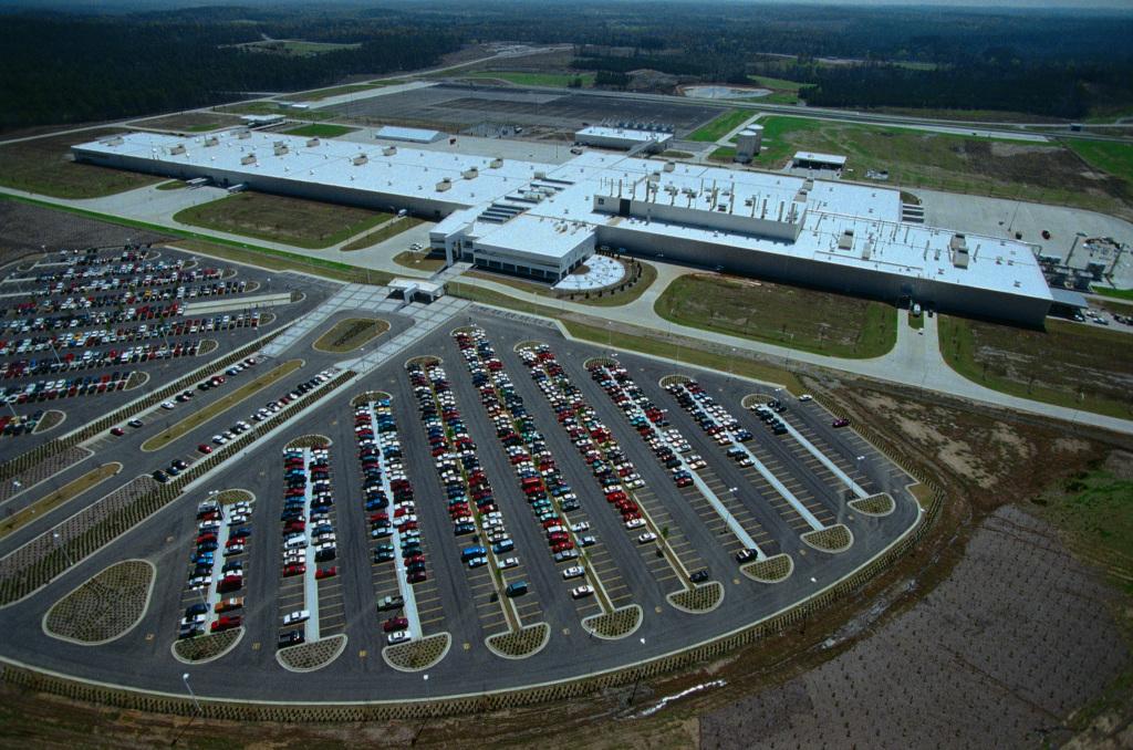 Daimler factory in Tuscaloosa, Alabama