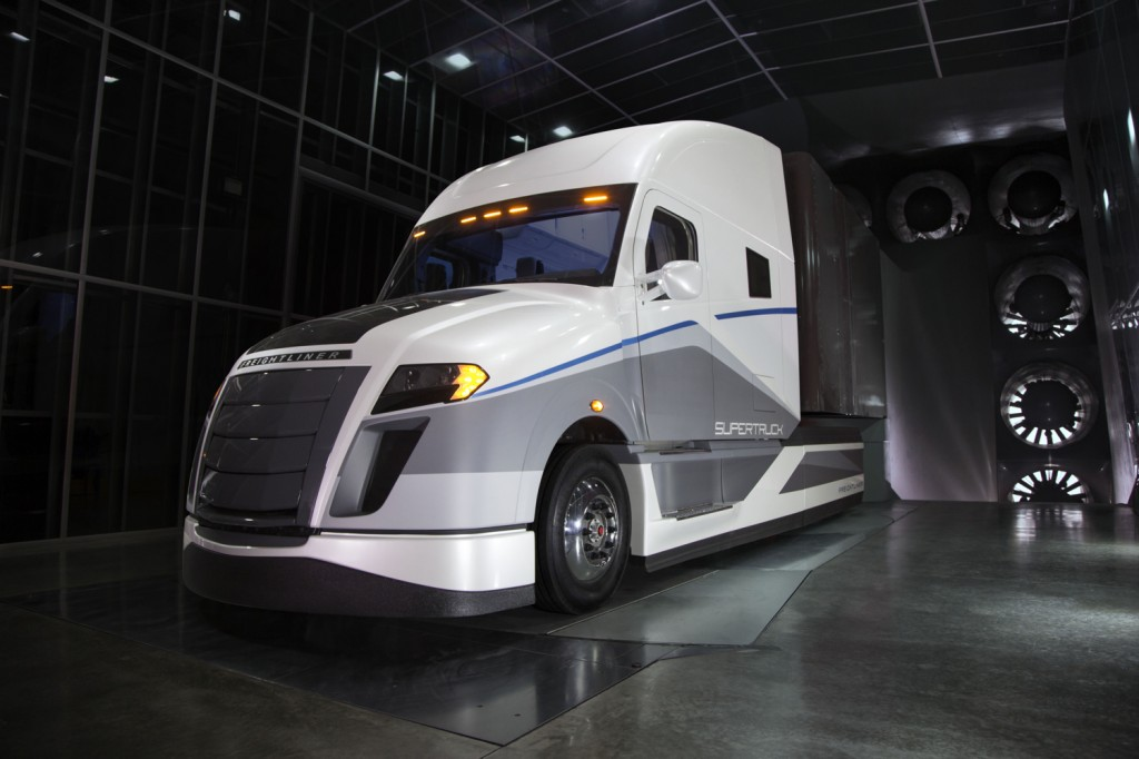 2018 volvo big truck. unique big daimler unveils supertruck 12mpg semi is more than twice as fuelefficient throughout 2018 volvo big truck
