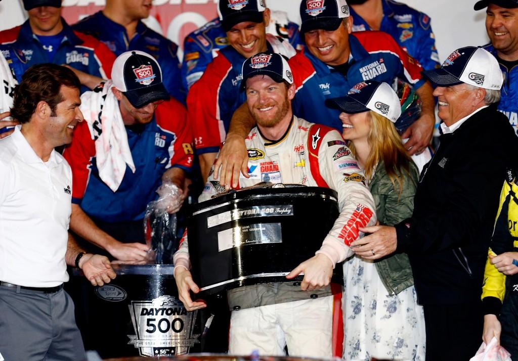 Dale Earnhardt, Jr., photo courtesy of NASCAR via Getty Images