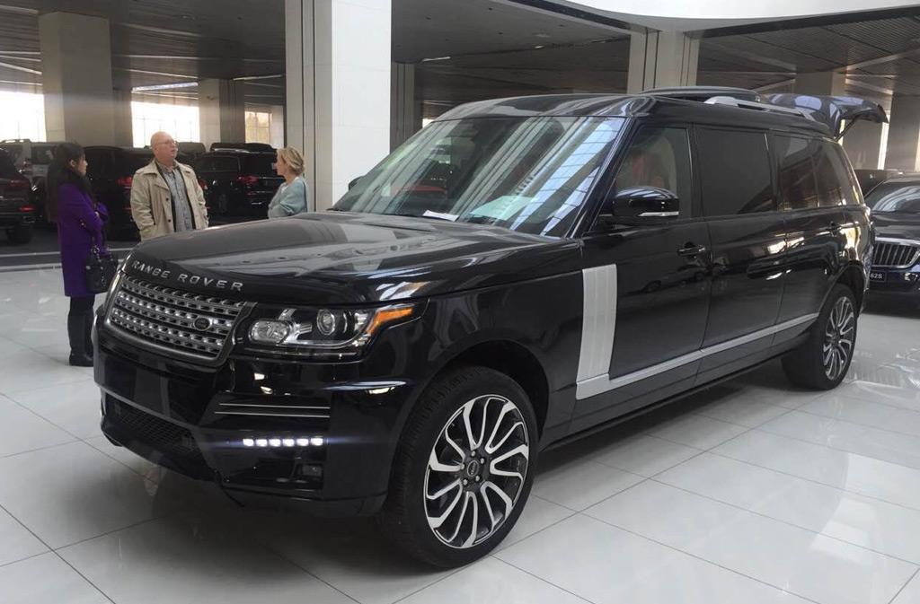 Range Rover Long Wheelbase >> Dartz unveils stretched Range Rover