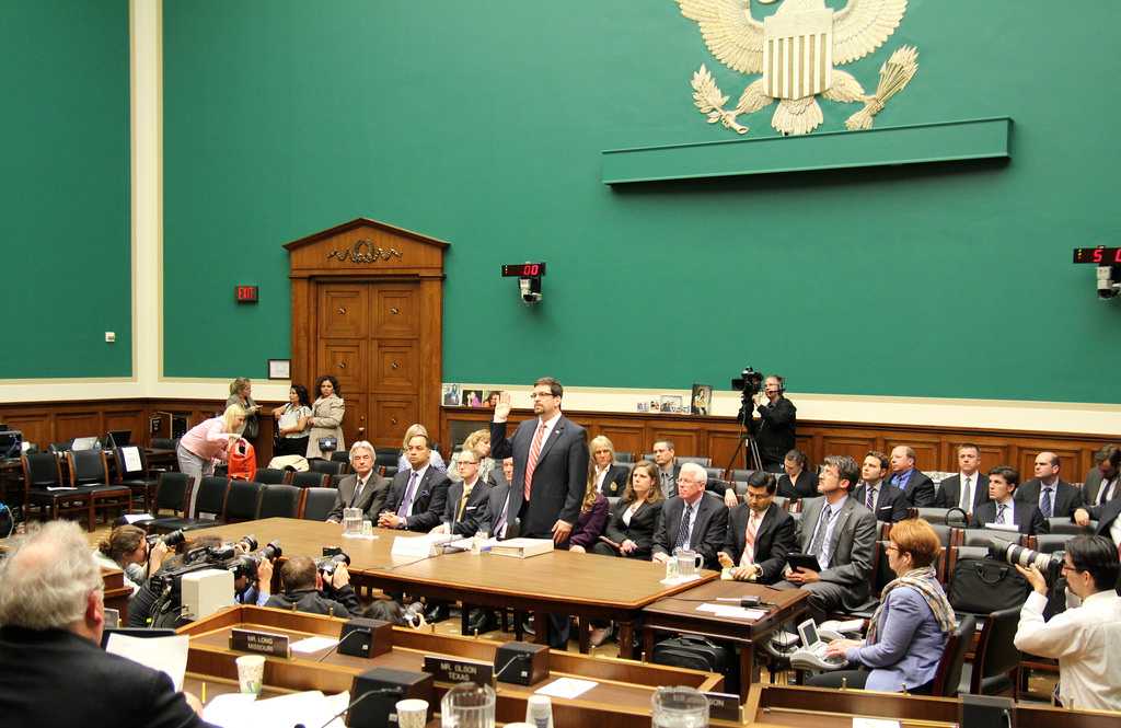 David Friedman testifying before the U.S. House Committee on Energy and Commerce (via Flickr)
