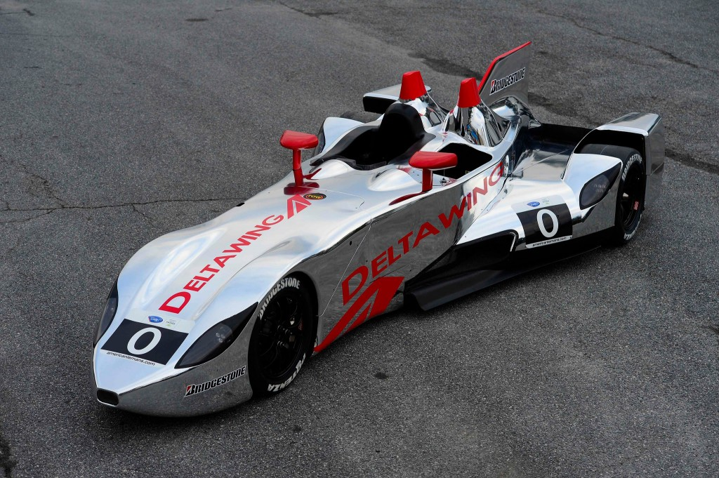 DeltaWing race car gets shiny new livery for 2013