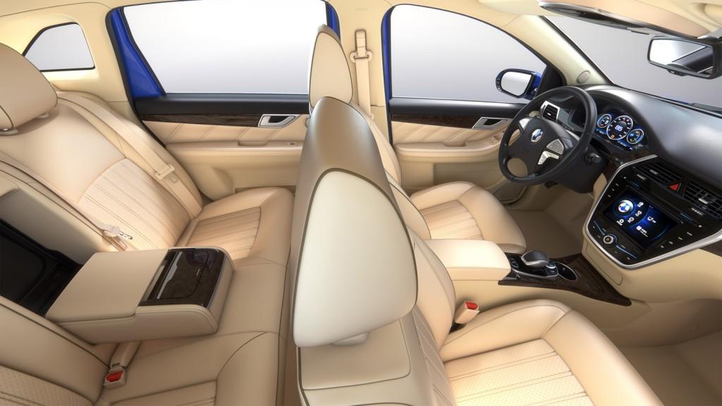 Denza electric car, 2014 Beijing Auto Show