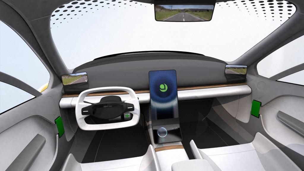 Дизайн нового электромобиля Aptera, август 2019 г.