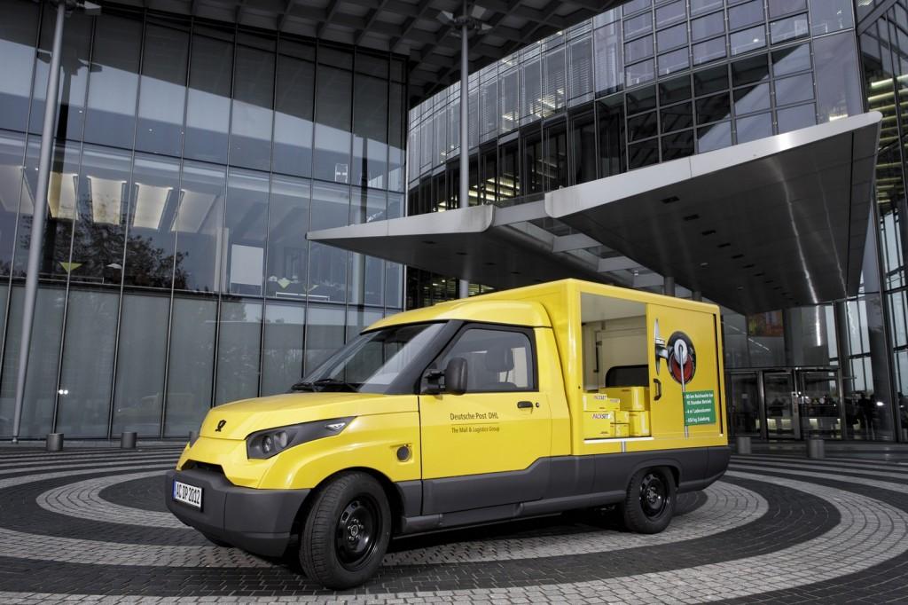 Deutsche Post StreetScooter electric van prototype
