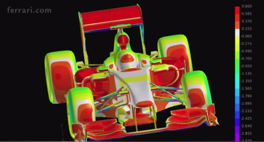 Discover the technology for Formula One with Ferrari