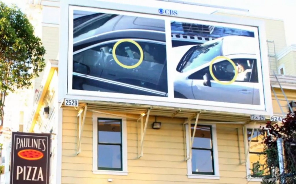 Public Shaming With Billboards: Any Less Likely To Text And Drive?