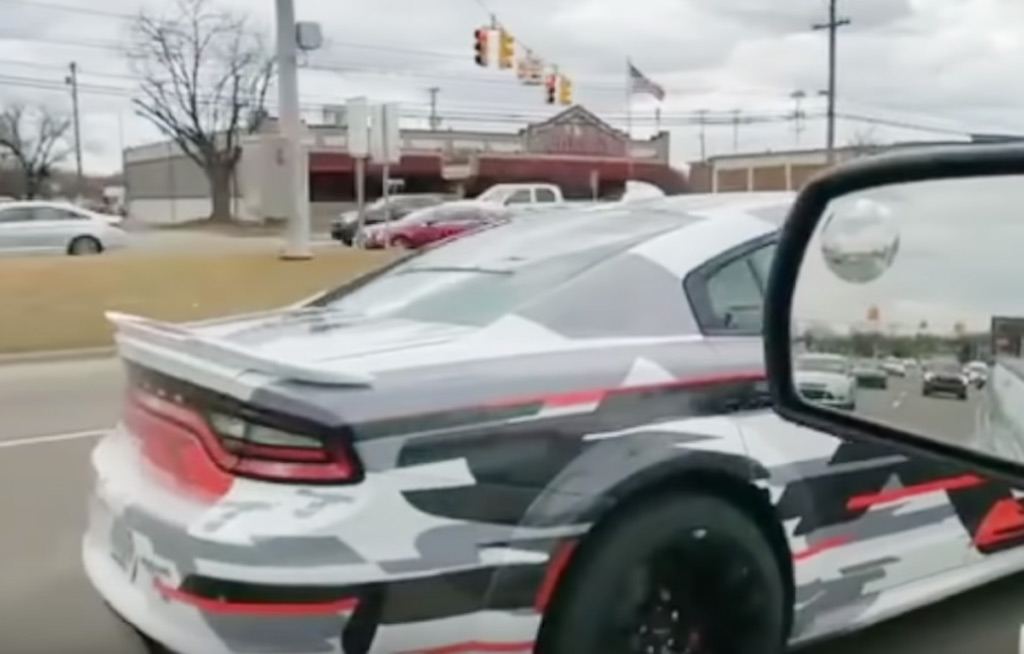 Dodge Charger widebody spotted prowling the streets of Detroit