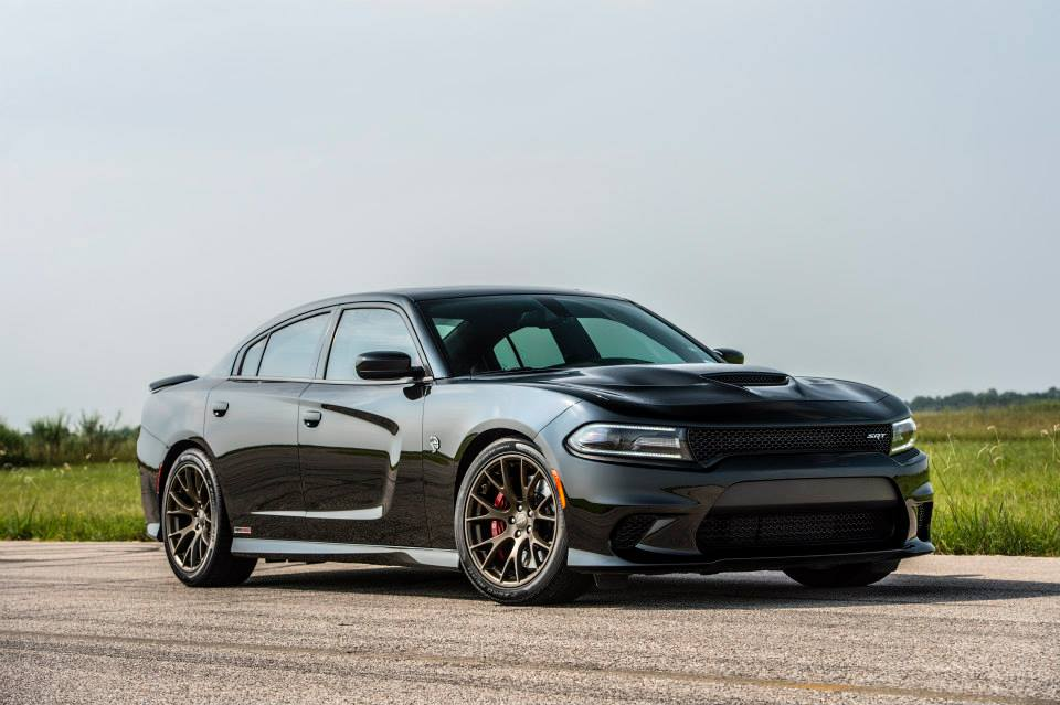 Meet Hennessey S 1 032 Hp Dodge Charger Srt Hellcat
