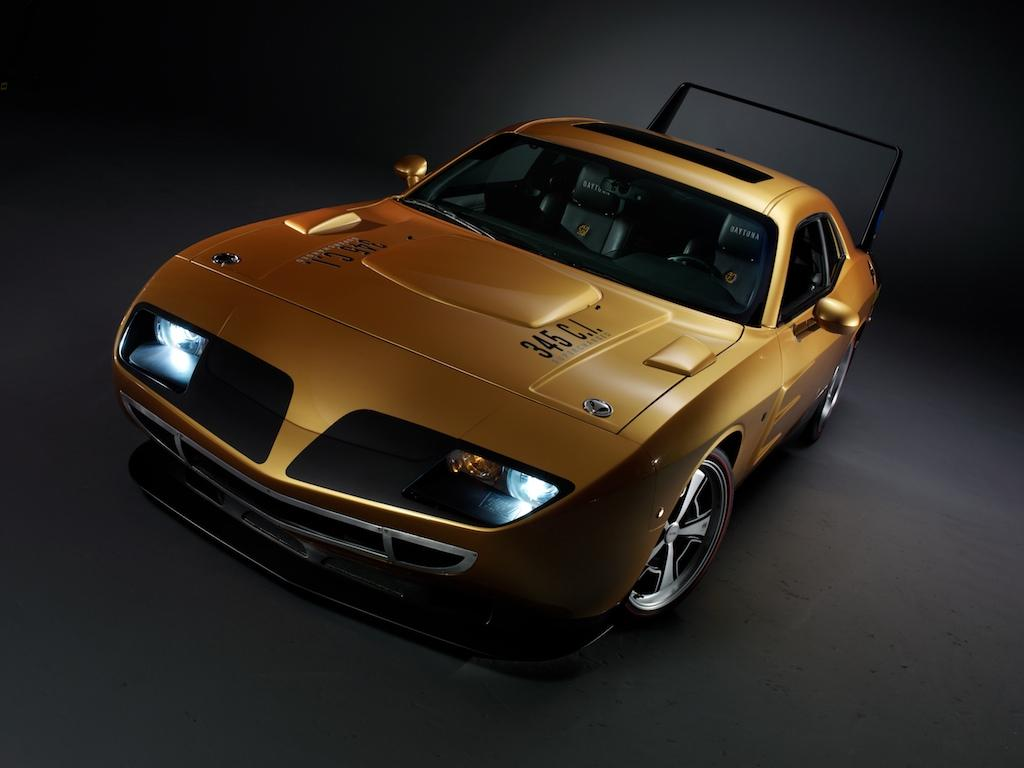 Hpp Goes Retro With Dodge Daytona And Plymouth Superbird Kits