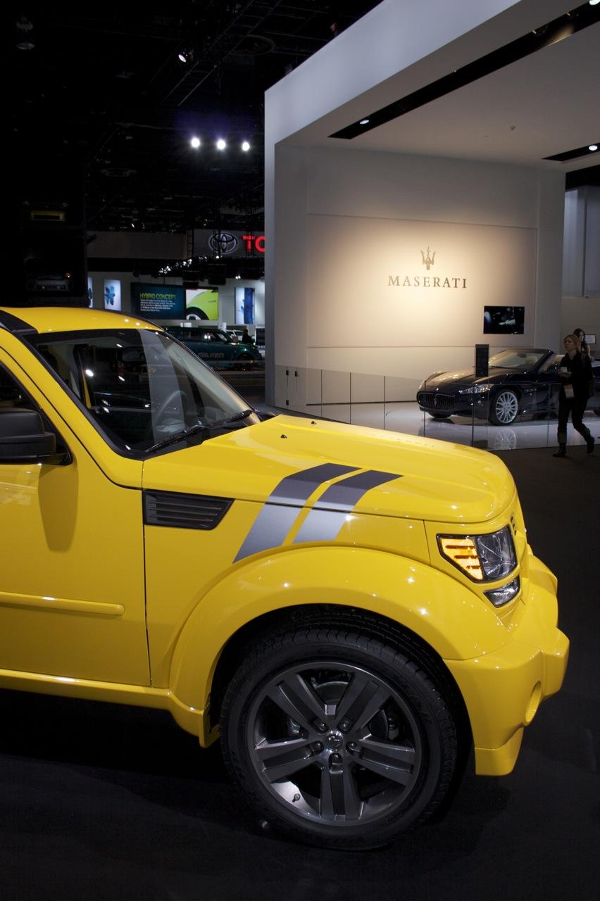 Dodge Nitro and Maserati