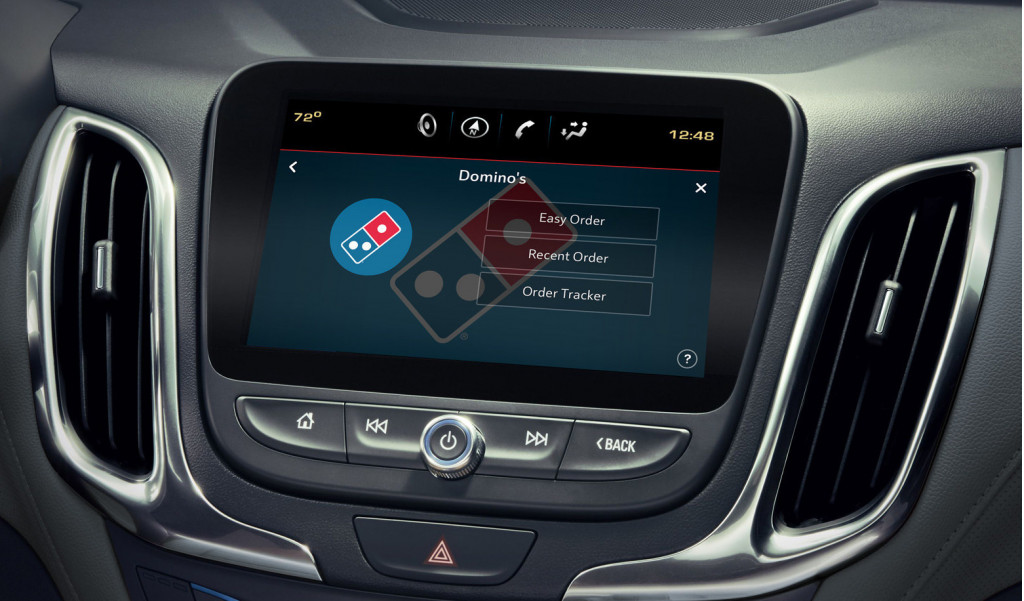 New Domino's in-car app lets drivers order pizza on the go
