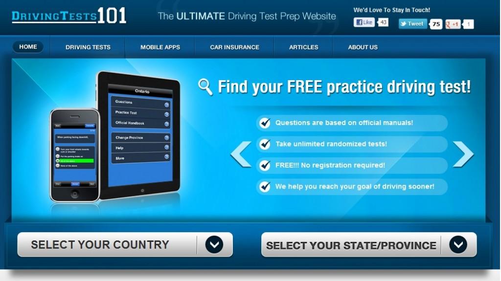 DrivingTests101.com