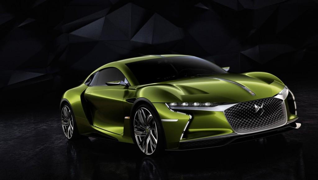 DS E-Tense concept, 2016 Geneva Motor Show