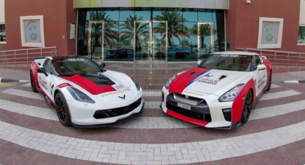 Now Dubai's ambulances are becoming supercars