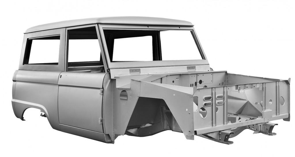 Dynacorn's reproduction Ford Bronco body - image: Marc Langsam/Dynacorn