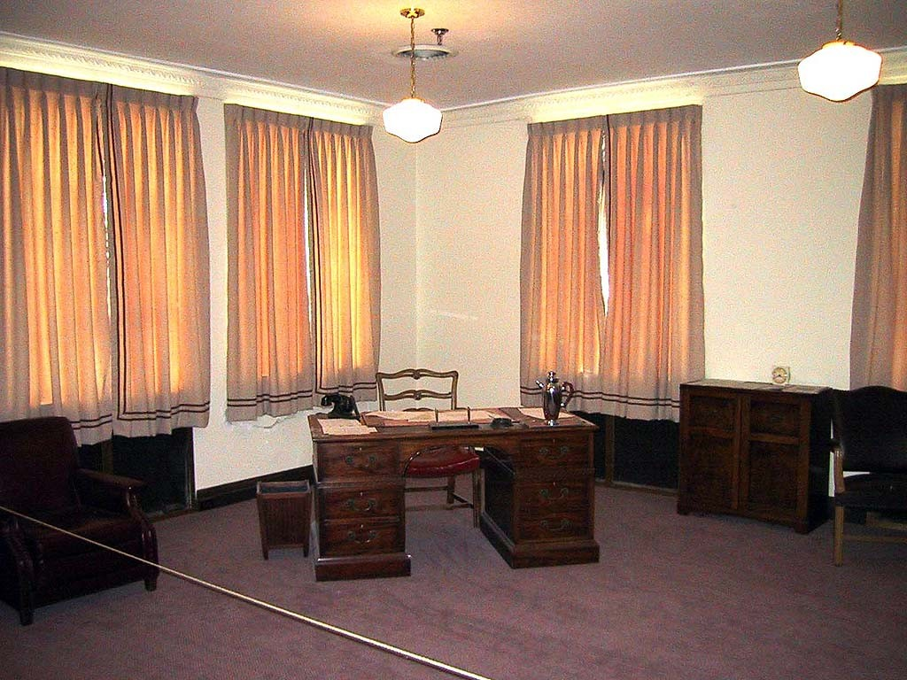 E. L. Cord's office at the A-C-D.