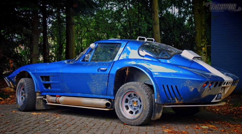 Rally Corvette Grand Sport Is Current Coolest Car On ...