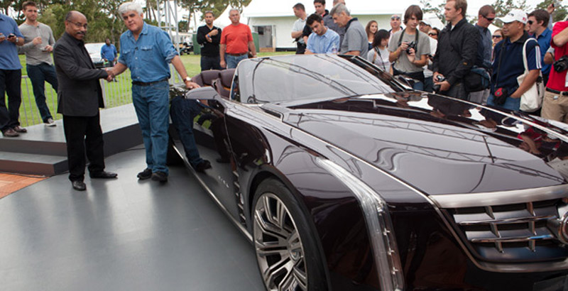 Jay Leno And Ed Welburn Discuss The 2011 Cadillac Ciel Concept Video